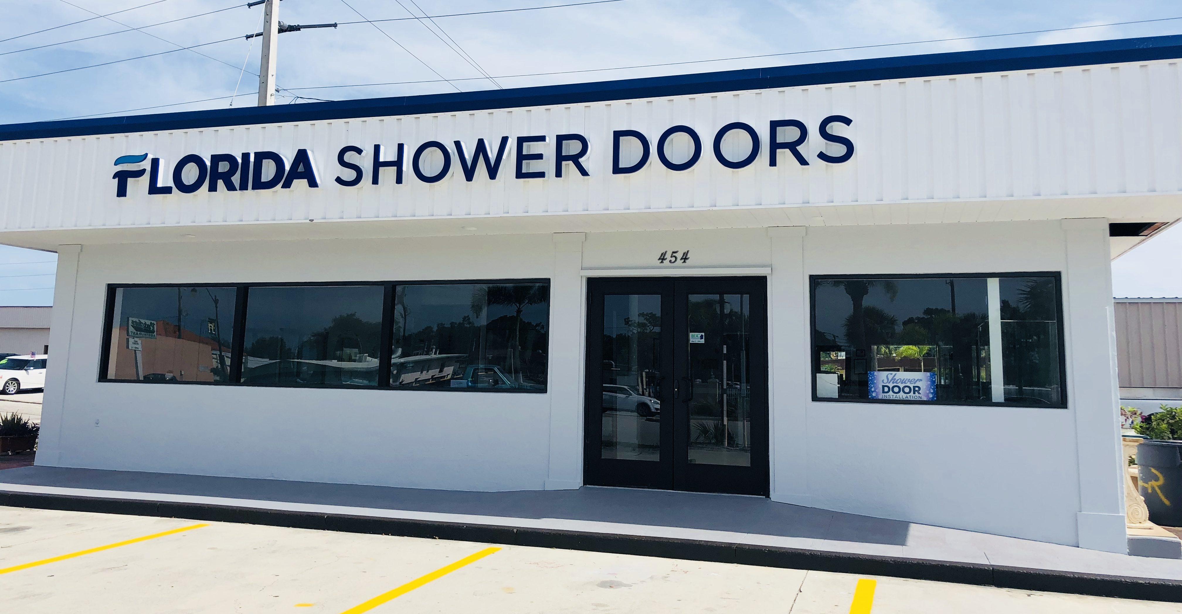 Our Showroom Florida Shower Doors